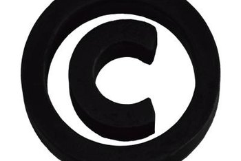 The copyright symbol serves as a notice of copyright protection.