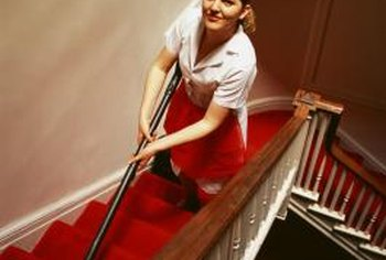 Assistant housekeeper's duties include overseeing staff and organizing events.