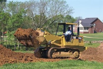 Driving a bulldozer is an example of a dozer job.