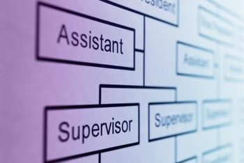 An organizational chart will guide you in evaluating your staff.