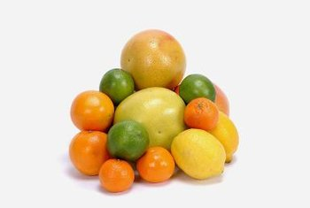 Grow a variety of ctirus fruits, such as lemons and oranges, at home.