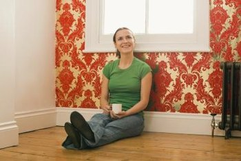 Repair loose wallpaper promptly for the most successful results.