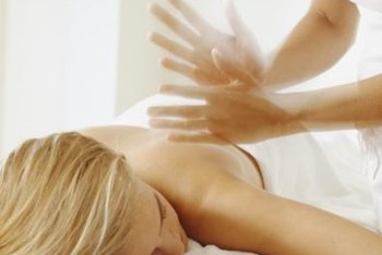 Massage therapists let their hands do the work.