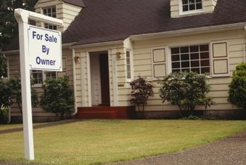 A prominent for-sale sign can attract cash buyers.