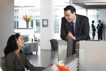 Communication skills are particularly important for administrative assistants.