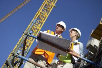 Engineering technologists can work with engineers on job sites.