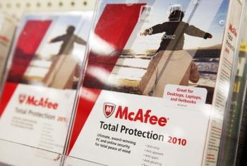 Program errors and malware may stop McAfee's system scanner from working.