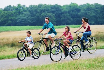 Biking burns calories faster than many other cardiovascular exercises.