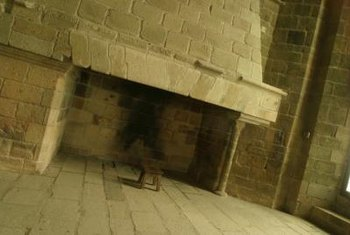 Brick and stone fireplaces need to be cleaned and restored over time.