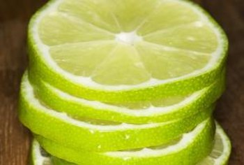 The dwarf lime is a good addition to your culinary garden.