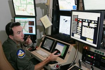 Air Force remote pilots often support ground troops with their aircraft.