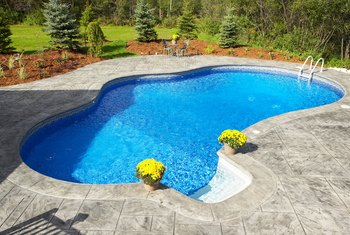 The pool pump and filter are critical to heathy water quality.