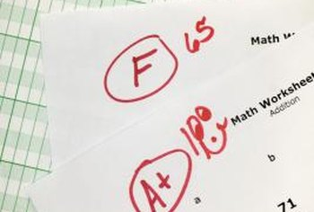 Kids may not know why they get failing grades.