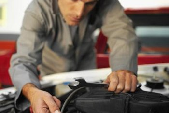 Auto mechanics may specialize in different vehicle systems.