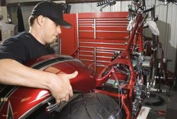 Motorcycle technician certification helps you land a job working with stock and custom motorcycles.