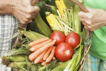 Tomatoes and carrots can benefit each other when grown together.