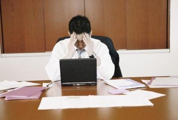 Otherwise amicable employees might display insubordination due to stress.