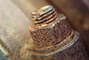 Don't struggle to remove rusty bolts. Use Liquid Wrench.