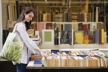 Booksellers spend a large portion of their day interacting with customers.