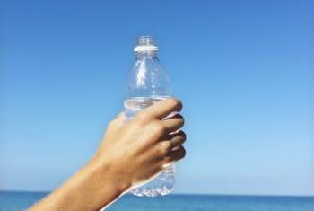 Some fear plastic bottles may release harmful ingredients when exposed to the sun.
