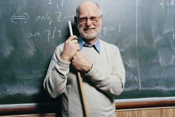 Theoretical mathematicians often find work as college professors.