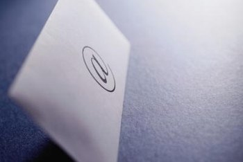 A digital signature lets people know you're sending messages from your phone.