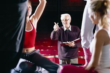 Prior experience leading others is one qualification of a theater director.