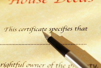 Remove yourself from a house deed by using a quitclaim deed.