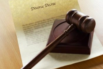 Net working capital and retained earnings may play a role in a divorce settlement.