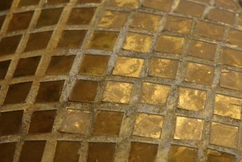 Glass tiles are almost always installed with a 1/8-inch or larger grout joints, which can make grout repair easier.