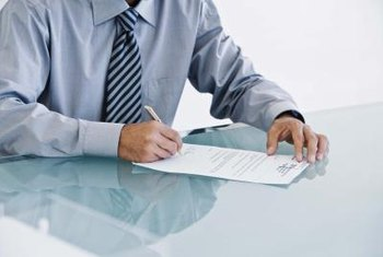 Financial services firms have extensive obligations in the management of contracts.