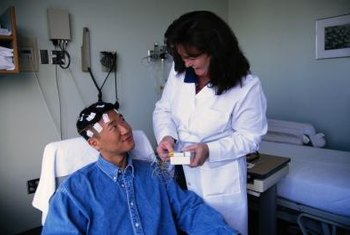 Neurologists use diagnostic tools such as electroencephalograms, or EEGs.