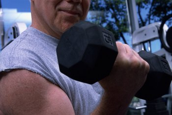 Engage in weight training to rebuild lost muscle mass.