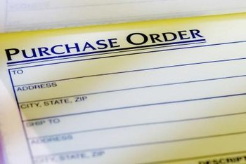 Include an authorized purchase order as evidence the bid request is legitimate.