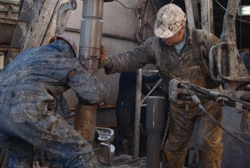 List the experience you have on oil rigs on your resume.
