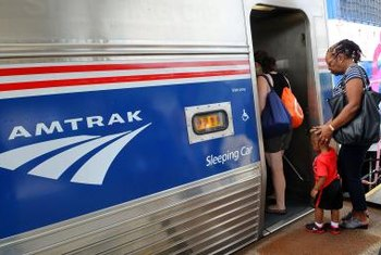 In 2013, Amtrak trains carried 31.6 million passengers.