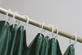 Hang the shower curtain liner to drip dry to prevent mold and mildew.