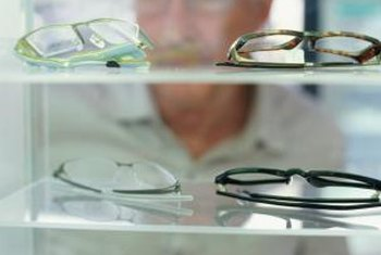 Optical laboratory technicians turn prescriptions into wearable eyeglasses.