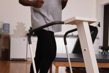 Treadmills are a reliable way to gain lower body strength.