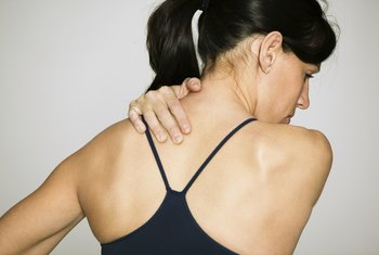 Overuse of the rotator cuff may lead to pain and weakness in the shoulders.