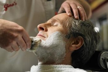 Many barbershops offer shave treatments in addition to haircuts.