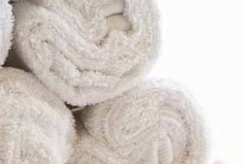 High-quality bath towels are preshrunk during manufacturing to minimize shrinkage after the first wash.