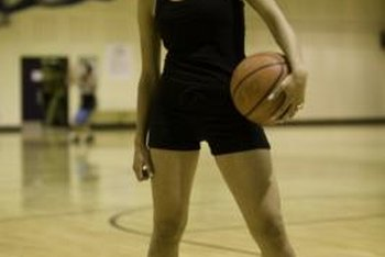 Women's basketball players put in additional work to improve their athleticism.