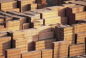 Lumber sales workers sell the wood used to build homes and other structures.