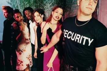 Provide security services to nightclubs as a security officer.