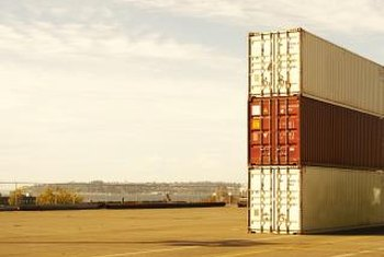 Standardized cargo containers reduce shipping costs.