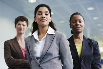 Policies and laws protect women from gender discrimination in the workplace.