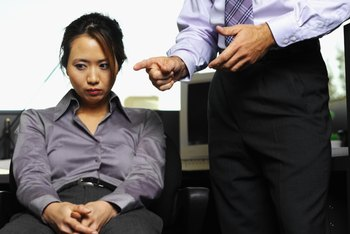 Reprimanding an employee is an unpleasant duty for managers.