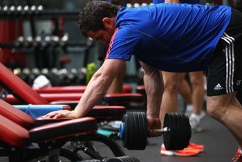 Rowing exercises work your grip.