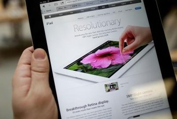 Go to the Apple Product Registration site when you're ready to register your iPad.